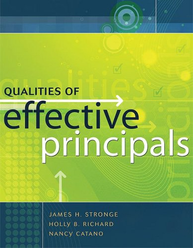 Qualities of Effective Principals 9781416607441
