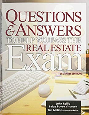 Questions & Answers to Help You Pass the Real Estate Exam 9781419500923