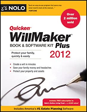 Quicken Willmaker Plus: Book & Software Kit [With CDROM] 9781413316353