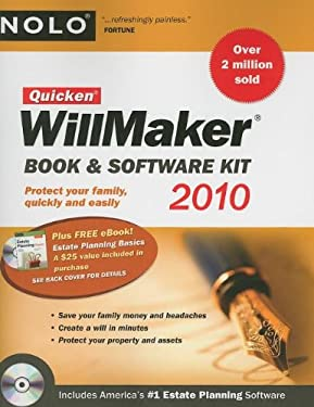 Quicken Willmaker: Book & Software Kit [With CDROM] 9781413310733