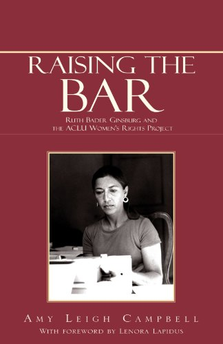Raising the Bar: Ruth Bader Ginsburg and the ACLU Women's Rights Project 9781413427400