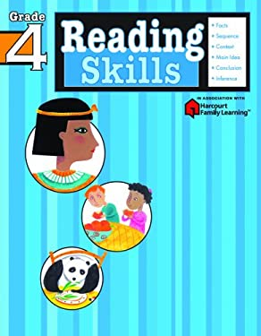 Reading Skills: Grade 4 (Flash Kids Harcourt Family Learning) 9781411401167