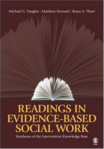 Readings in Evidence-Based Social Work: Syntheses of the Intervention Knowledge Base 9781412963244