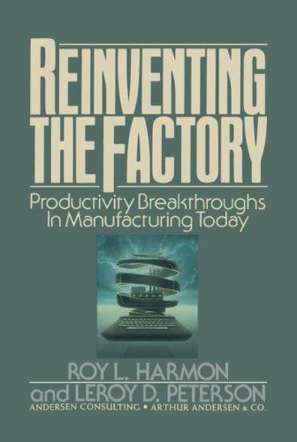 Reinventing the Factory: Productivity Breakthroughts in Manufacturing Today 9781416577720