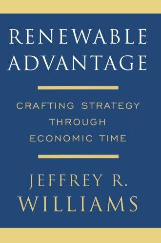Renewable Advantage: Crafting Strategy Through Economic Time 9781416551232