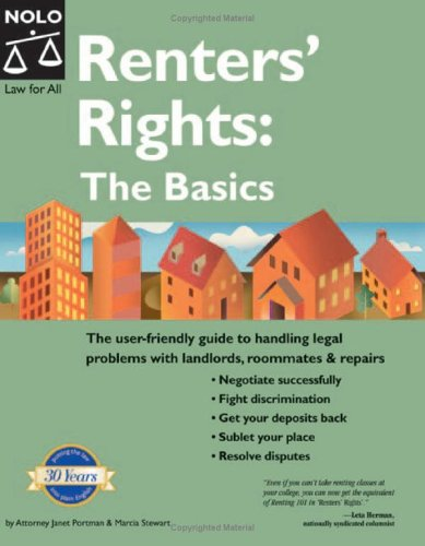 Renters' Rights: Legal Basics 9781413301502