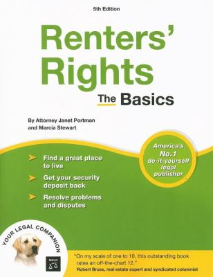 Renters' Rights: The Basics 9781413305753