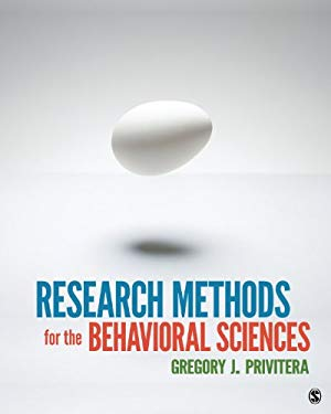 Research Methods for the Behavioral Sciences 9781412975117