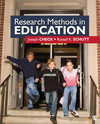 Research Methods in Education 9781412940092