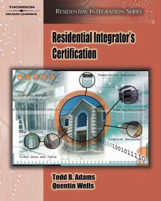 Residential Integrator's Certification 9781418014094