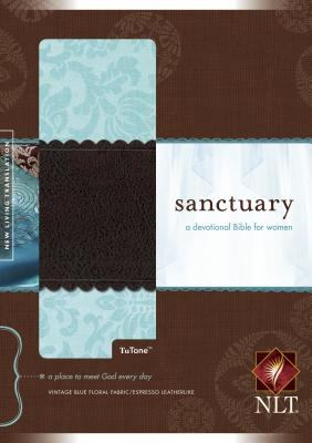 Sanctuary Bible-NLT: A Devotional Bible for Women 9781414310329