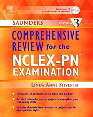 Saunders Comprehensive Review for the NCLEX-PN Examination [With CDROM] 9781416000525