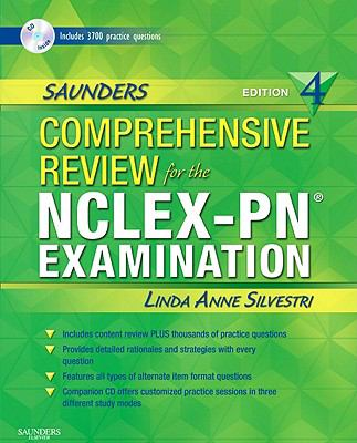 Saunders Comprehensive Review for the NCLEX-PN Examination [With CDROM]