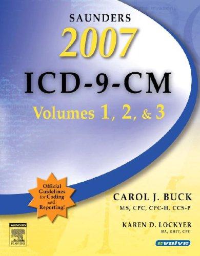 Saunders ICD-9-CM, Volumes 1, 2, & 3 9781416040408