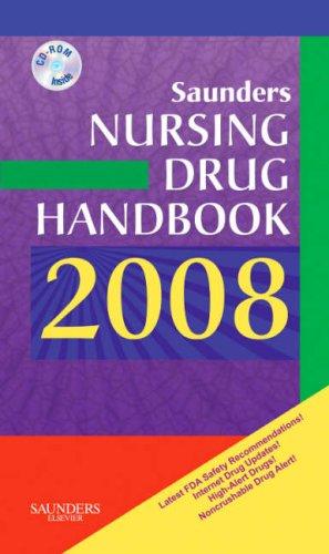 Saunders Nursing Drug Handbook [With Mini CDROM] 9781416040637