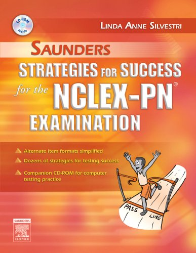 Saunders Strategies for Success for the NCLEX-PN Examination [With CDROM] 9781416000945