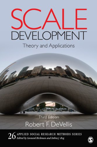 Scale Development: Theory and Applications 9781412980449