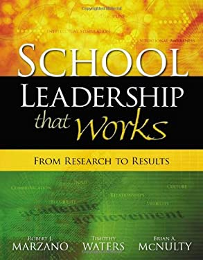 School Leadership That Works: From Research to Results 9781416602279
