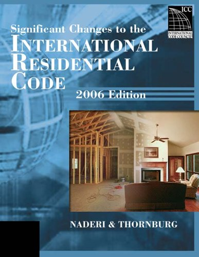 Significant Changes to the International Residential Code 9781418028787