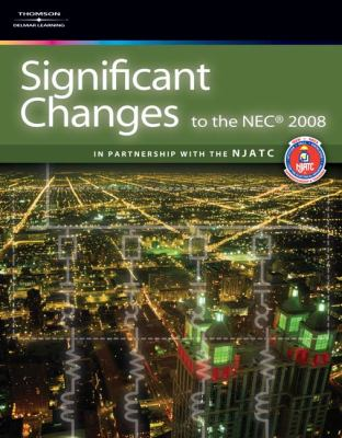 Significant Changes to the NEC 9781418067472