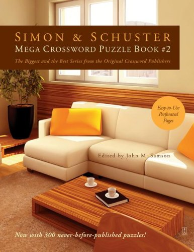 Simon & Schuster Mega Crossword Puzzle Book #02 9781416559061