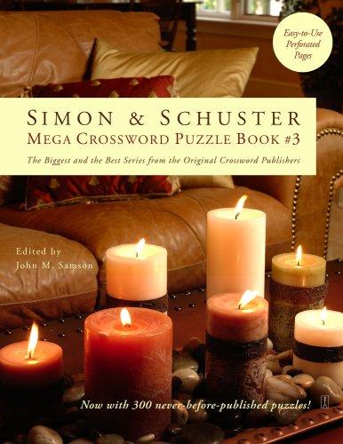 Simon & Schuster Mega Crossword Puzzle Book #03 9781416559092
