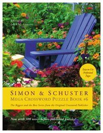 Simon & Schuster Mega Crossword Puzzle Book: 300 Never-Before-Published Crosswords 9781416587842