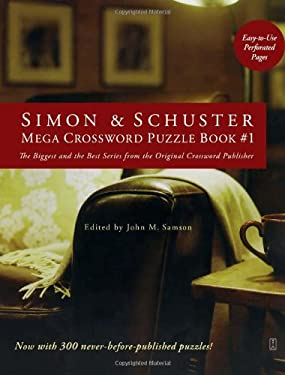 Simon & Schuster Mega Crossword Puzzle Book: Series 1 9781416557005