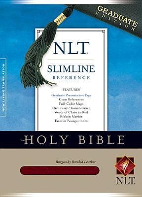 Slimline Reference Bible-NLT-Graduate 9781414313818