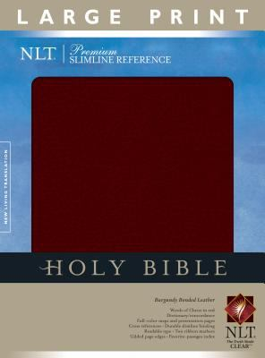 Slimline Reference Bible-NLT-Large Print 9781414302294