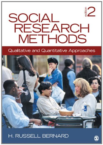 Social Research Methods: Qualitative and Quantitative Approaches 9781412978545