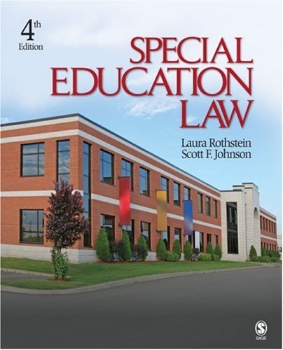 Special Education Law 9781412967716