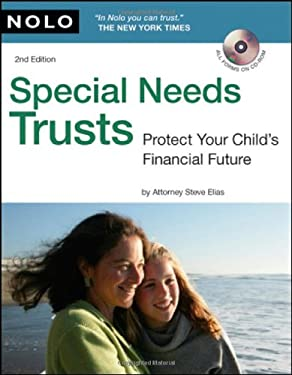 Special Needs Trusts: Protect Your Child's Financial Future [With CDROM] 9781413310177