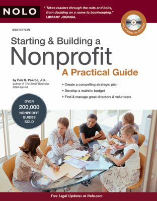 Starting & Building a Nonprofit: A Practical Guide [With CDROM] 9781413309416
