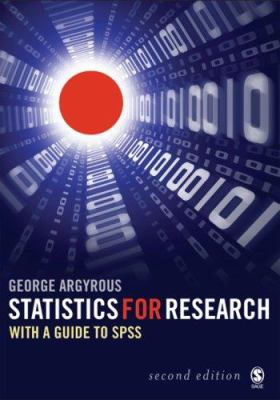 Statistics for Research: With a Guide to SPSS 9781412919487