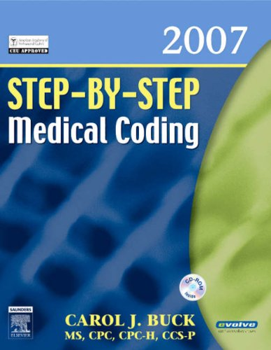 Step-By-Step Medical Coding [With CDROM] 9781416001331