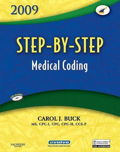 Step-By-Step Medical Coding [With CDROM] 9781416045663
