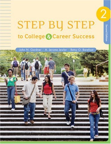 Step by Step to College and Career Success 9781413030761