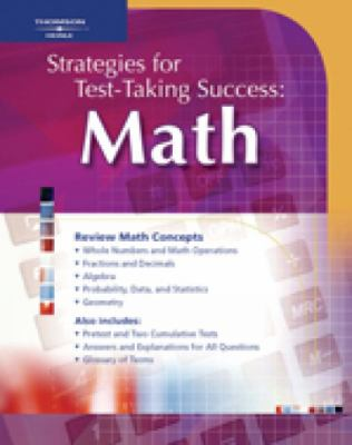 Strategies for Test Taking Success: Math 9781413009255