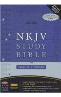 Study Bible-NKJV-Large Print [With CDROM] 9781418542085