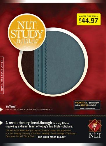 Study Bible-NLT 9781414333892