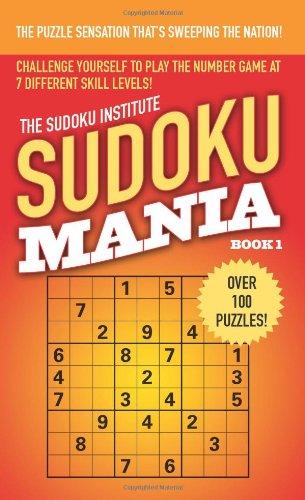 Sudoku Mania, Book 1 9781416528609