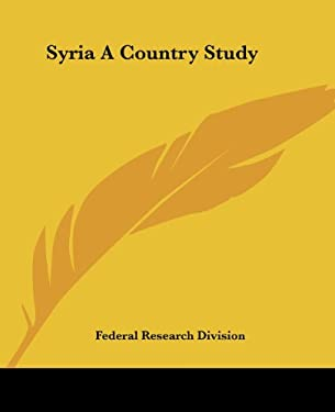Syria a Country Study