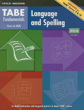 TABE Fundamentals: Language and Spelling, Level M 9781419053535