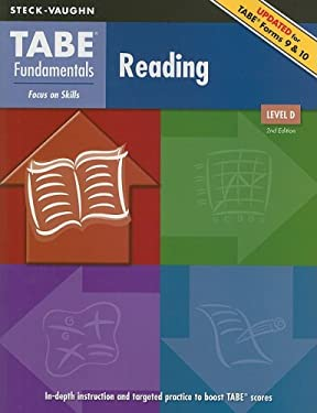 TABE Fundamentals Reading, Level D: Focus on Skills 9781419053566