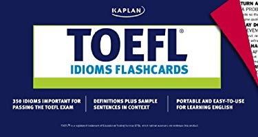 TOEFL Idioms Flashcards 9781419591488