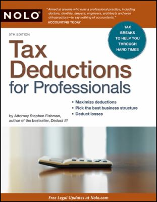 Tax Deductions for Professionals 9781413310795
