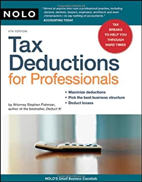 Tax Deductions for Professionals 9781413309195