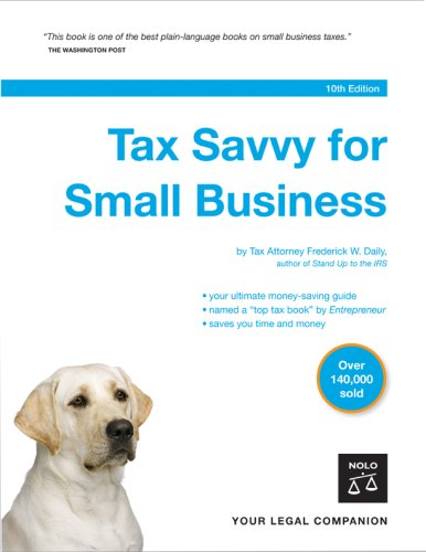 Tax Savvy for Small Business 9781413305296