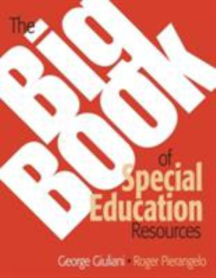 The Big Book of Special Education Resources 9781412917100